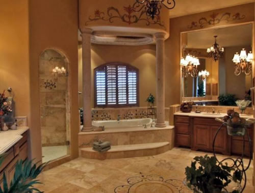 Sparks custom cabinets kitchen cabinets built in for Large bathroom designs