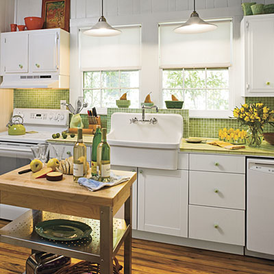 Sparks custom cabinets kitchen cabinets built in - Cocinas retro ...